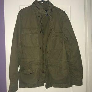 Army Green cargo jacket